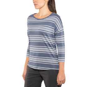 Patagonia Shallow Seas Haut Manches 3/4 Femme, lightning stripe: dolomite blue